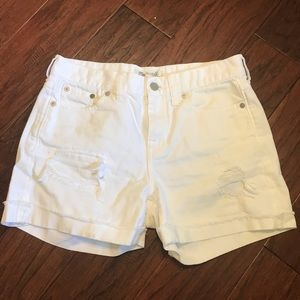 Madewell | High Rise Cutoff Distressed Jean Shorts